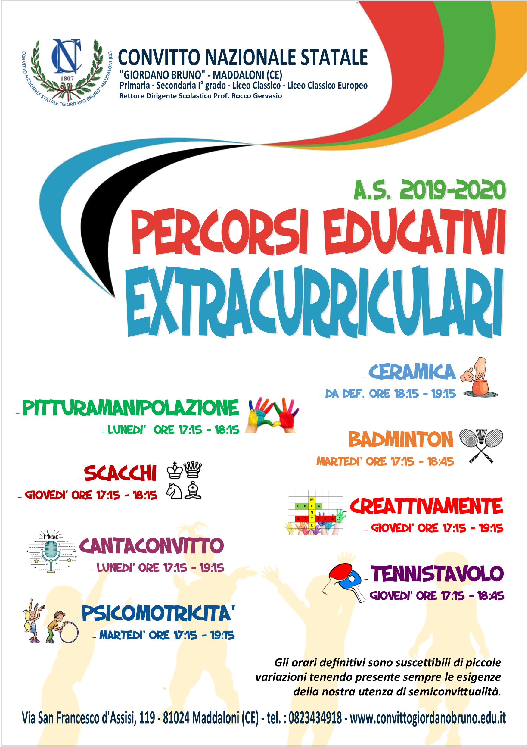 MANIFESTO DEFINITIVO Percorsi Educativi
