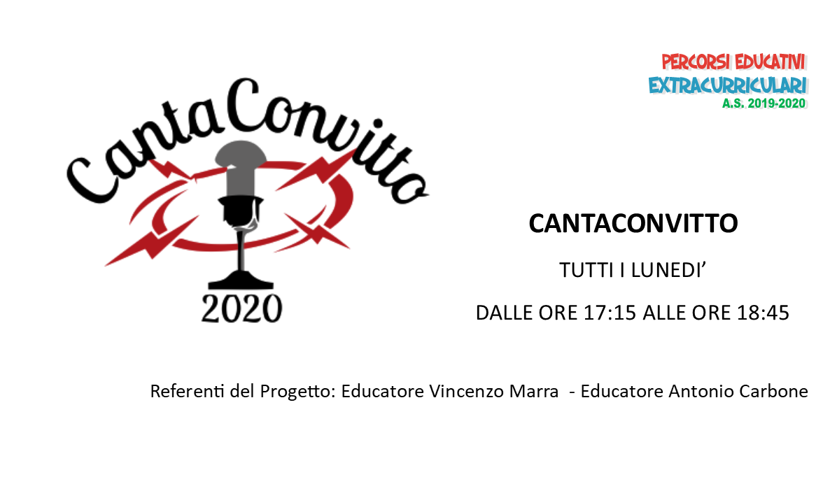 cantaconvitto